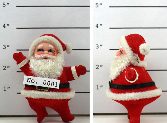 Safe and secure holiday shopping for small businesses, santa figure