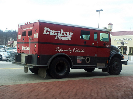 Dunbar Armored Truck marketing tagline