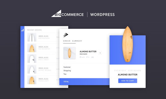 BigCommerce for Wordpress plugin
