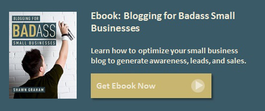 how to start a small business blog ebook