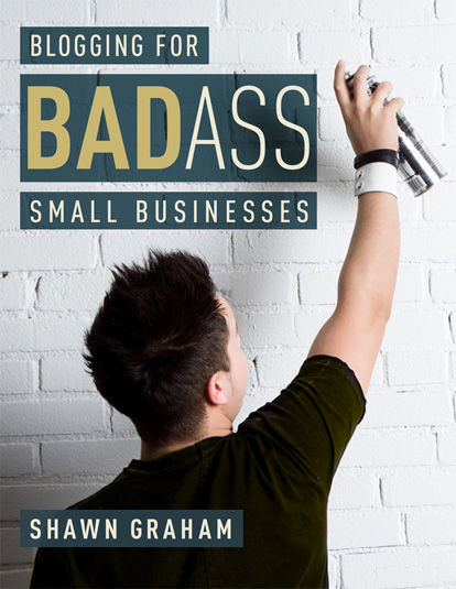 blogging for badass small businesses ebook cover