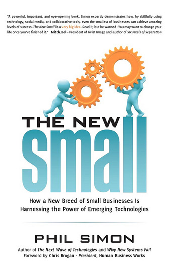 The New Small book by Phil Simon