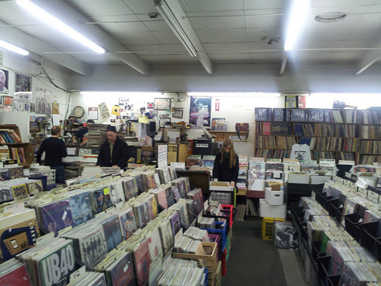 Jerry's Records in Squirrel Hill, PA
