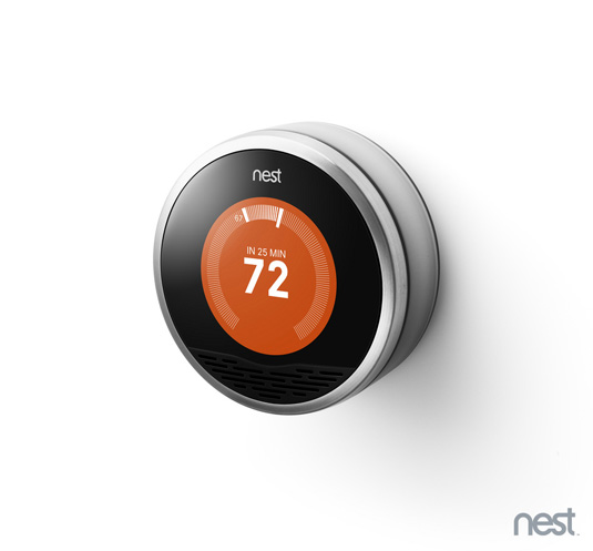 product design, nest learning thermostat