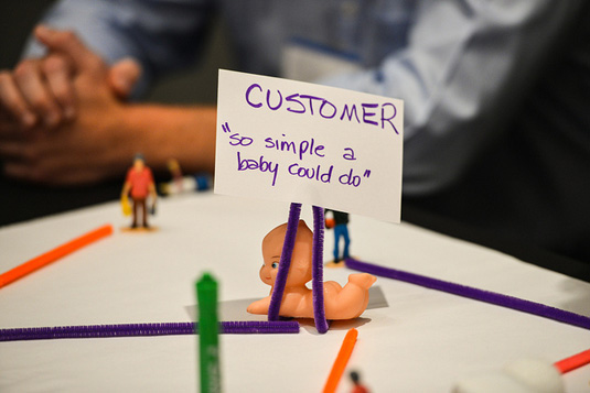 Creating a culture of customer service for small business, brainstorming