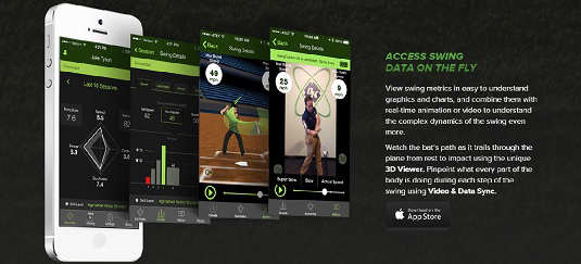 diamond kinetics swingtracker, Pittsburgh startup