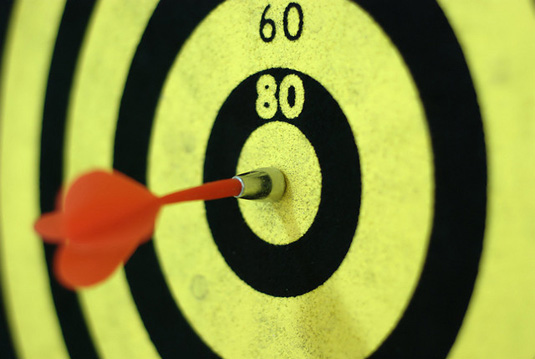 getting more targeted traffic to your small business website, bullseye