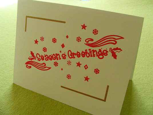 Small Holiday Cards