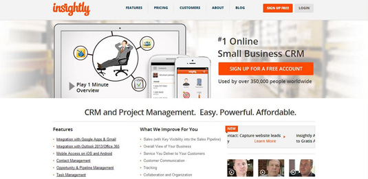insightly small business crm
