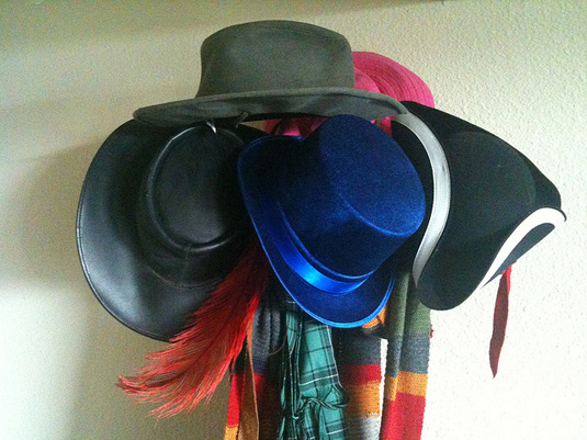 Marketing your small business while wearing multiple hats, hat rack