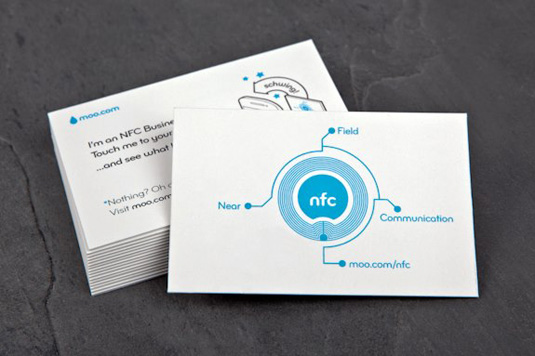 The biggest thing to happen to business cards sincewell forever moo nfc business cards colourmoves