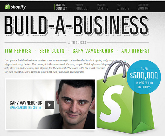 Shopify Build-A-Business Contest