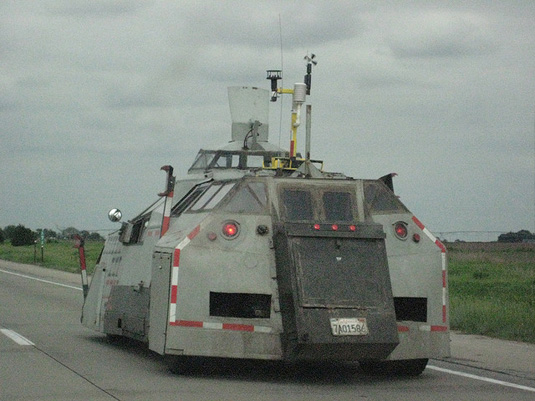 Storm chaser vehicle