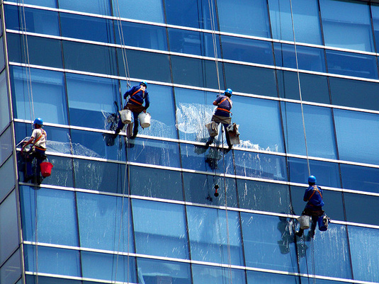 spring cleaning your small business, window cleaner